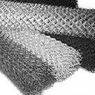 Сетка стальная плетеная оцинк рабица