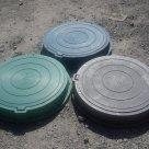 Люк полимерно-песчаный телефонный тип C ГТС