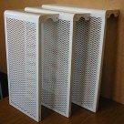 Решетка радиаторная, настенная, напольная, стальная и ПФХ