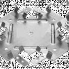 Одноуровневый соединитель (краб)