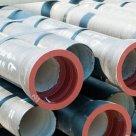 Трубы водопроводно-напорные полиэтилен, сталь, чугун, ПП, ПВХ