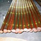 Бескислородный медный пруток (круг) М0б ГОСТ 10988-75