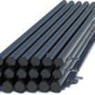 Столб стальной, с крючками и заглушками с грунтовым покрытием