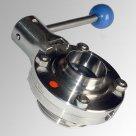 Затвор дисковый SYLAX хкоятка Диск-AISI316;упл EPDM Danfoss