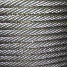 Канат (Трос) стальной оцинкованный ГОСТ 3062-80 смазка А