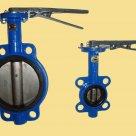 Затвор дисковый межфланцевый хкоятка чуг-диск-чуг EPDМ,110С KVA