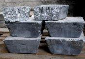 Сурьма металлическая чушка ГОСТ 1089-82