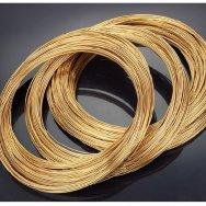 Проволока бронзовая круглая БрБ2, ГОСТ 48-21-384-74