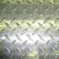 Лист алюминиевый рифленый Квинтет, Диамант