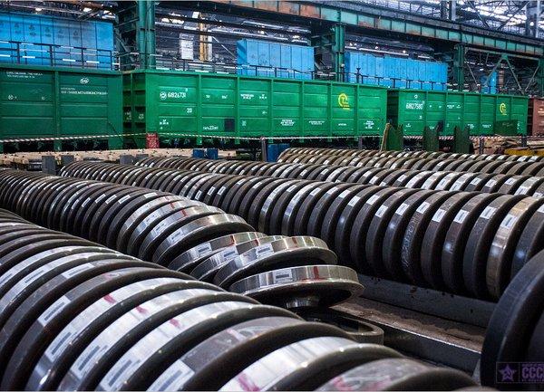 Заготовка колес Для метрополитена 380 кг, 2