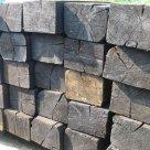 Шпала деревянная пропитанная 2 тип ГОСТ 78-2004 в России