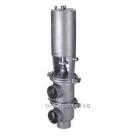 Клапан седельный DN 65 AISI 316L с пневмоприводом н/з 4730PC в России