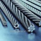 Трос стальной ГОСТ 7668-80 двойной свивки типа ЛК-РО