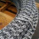 Лента стальная АКЛ (армированная колючая) оцинкованная в России