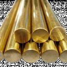 Пруток бронзовый, круг БРОФ10, ГОСТ 24301-93 в Белорецке