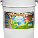 Биодрев - полуматовый быстросохнущий кроющий антисептик по дереву на водной основе в Екатеринбурге
