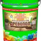 Древопол - краска для деревянных полов матовая в России