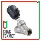 Клапан седельный с пневмоприводом н/з 4732PC AISI 316L
