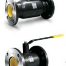 Кран стальной шаровой LD КШЦФ Energy 065.025.03п/п фланец/фланец полнопроходной, с рукояткой в России