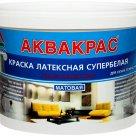 Аквакрас - супербелая краска для стен и потолков в России