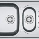 Мойка сталь нерж Матовая 510х510 0,8мм L75151 Ledeme в Нижнем Новгороде