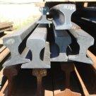 Рельс Э76 ГОСТ 4121-76 криволинейный б/у узкоколейные сталь в России