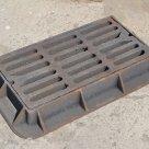 Чугунная решетка сливная для канализации дождеприемник ДМ ДК Дб в Казани