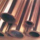 Труба бронзовая БрАЖМц10-3-1,5, БрАЖН10-4-4 по ГОСТ 1208-90, 24301-93 в Череповце