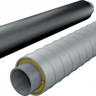 Труба ППУ-ПЭ-сп, диаметр ПЭ оболочки 500мм в Самаре