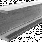 Двутавр алюминиевый АД31Т1, дл=6м
