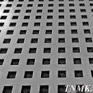 Лист перфорированный стальной 1х1000х2000 мм Qg 5,0-8,0