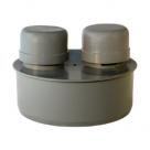 Клапан для стояка канализационный 50 - 500 ПВХ, ПЭ, ПНД полиэтиленовый чугун в Одинцово