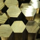 Шестигранник бронзовый ГОСТ 1628-78 БрАЖМц 10-3-1,5, БрАМц9-2, БрАЖН10-4-4, БрКМц3-1, БрКН1-3 в Магнитогорске