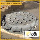 Люк чугунный ГТС ВЧШГ 850x850x110 мм ГОСТ 3634-99 тип Т, крышка 686 мм, 132 кг, нагрузка 25т в России