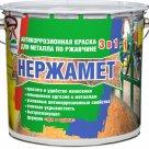 Нержамет - атмосферостойкая антикоррозионная эмаль для металла в России