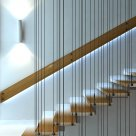 Лестница с поворотом на 90 в Златоусте