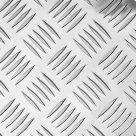 Лист алюминиевый рифленый (Квинтет) ТУ 1-801-20-2008 в Ростове-на-дону