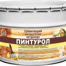 Пинтурол - тонирующий антисептик для древесины на органических растворителях, 8кг в Красноярске