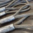 Строп канатный 4СК (паук стальной) ГОСТ 25573- четырехветвевой в России