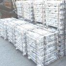 Чушка алюминиевая А7, А6, ГОСТ, ТУ 11069-01, РФ в России