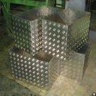 Лист алюминиевый рифленый 2х1200х3000мм Квинтет, Диамант в Рязани