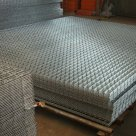 Сетка сварная нержавеющая 3 мм диаметр проволоки 30х30 мм