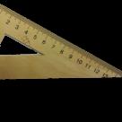 Угольник деревянный ТУ 22-3949-77 в Вологде