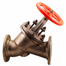 Клапан запорный прямоточный КЗП ТУ 3742-005-05777029-2010 в Златоусте