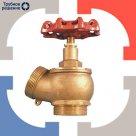 Вентиль пожарный латунный КПЛ-1 пож. муфта-штуцер в России