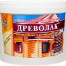 Древолак - акриловый лак на водной основе для защиты деревянных конструкций в Новосибирске