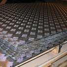 Лист рифленый АМГ2 Н2 (квинтет) ТУ 1-2-559-2001