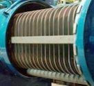 Корпус фильтра с наружным обогревом для химической промышленности D=800 мм, P=4, 0 Мпа