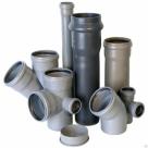 Канализация из чугунных полиэтиленовых труб и ПВХ в России