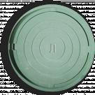 Люк полимер квадратный 655/550/60 15кНзеленый m=27 кг Ростов-Полимер в России